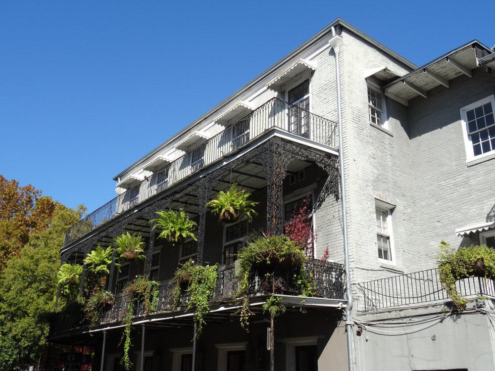 Le Vieux Carré et ses maisons typiques