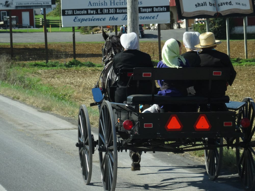 La version 4 places du buggy amish