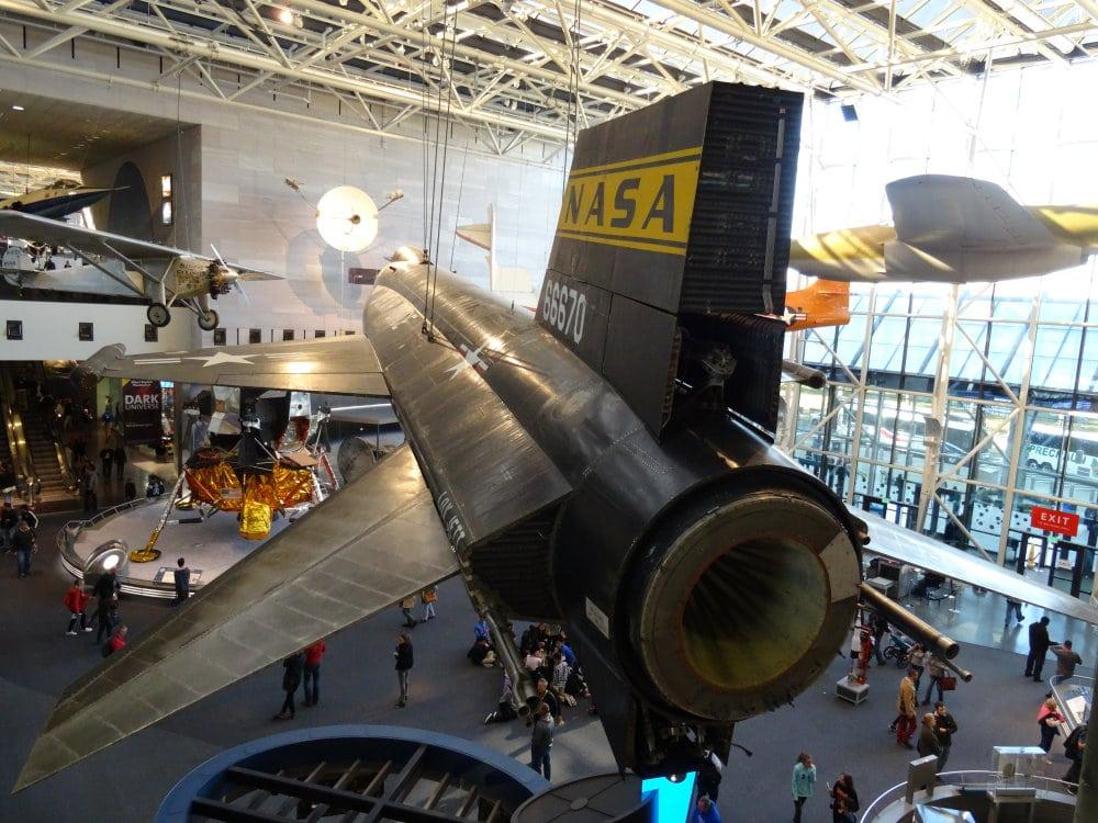 Le National Air and Space Museum, un immense musée dédié à la conquête des airs