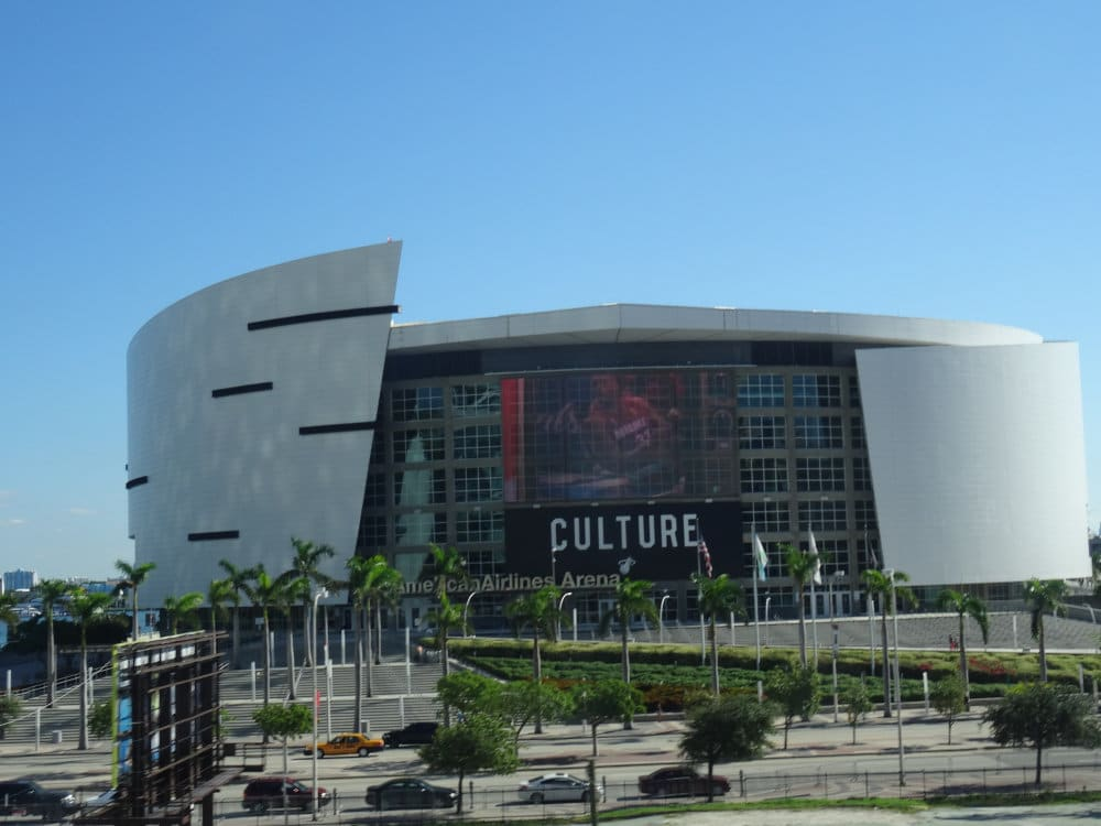 L'American Airlines Arena, antre des Miami Heat