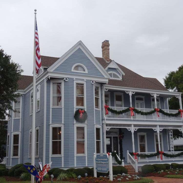 Une jolie maison en bois à Pensacola