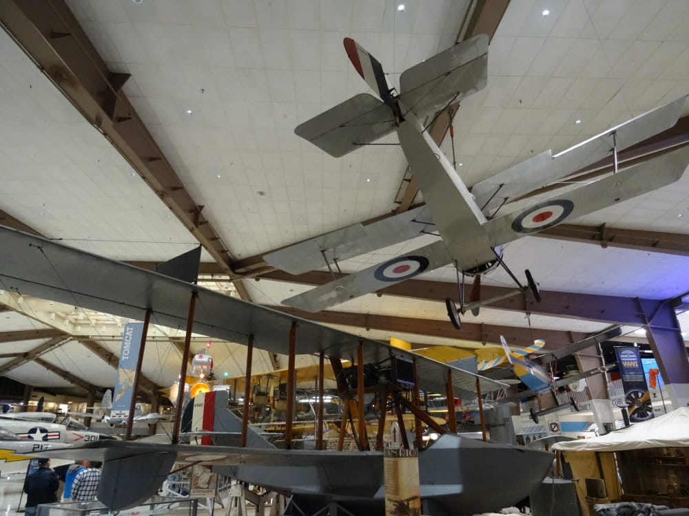 Le musée de l'aviation de Pensacola