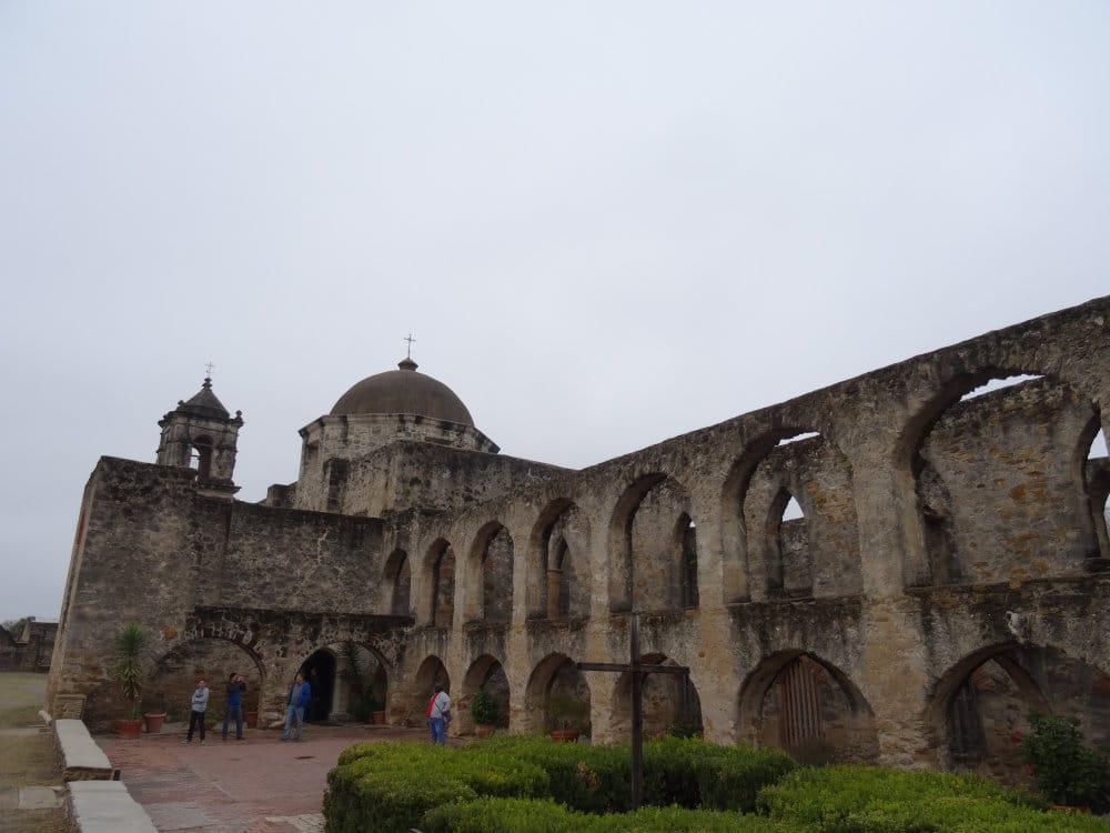 La Mission San José à San Antonio