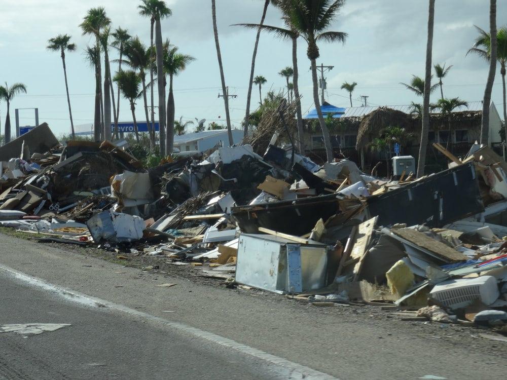Les ravages d'Irma sur l'archipel des Keys