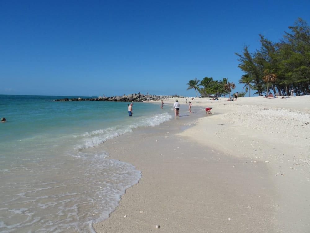 Une plage de rêve à Key West
