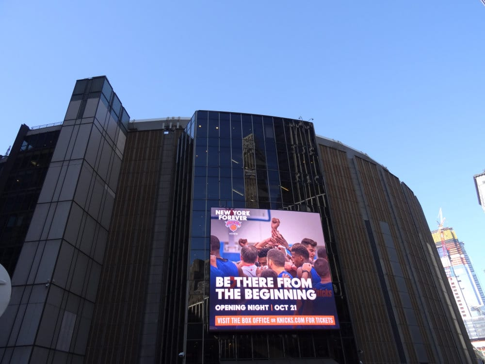 Le Madison Square Garden, temple de l'entertainment de Big Apple