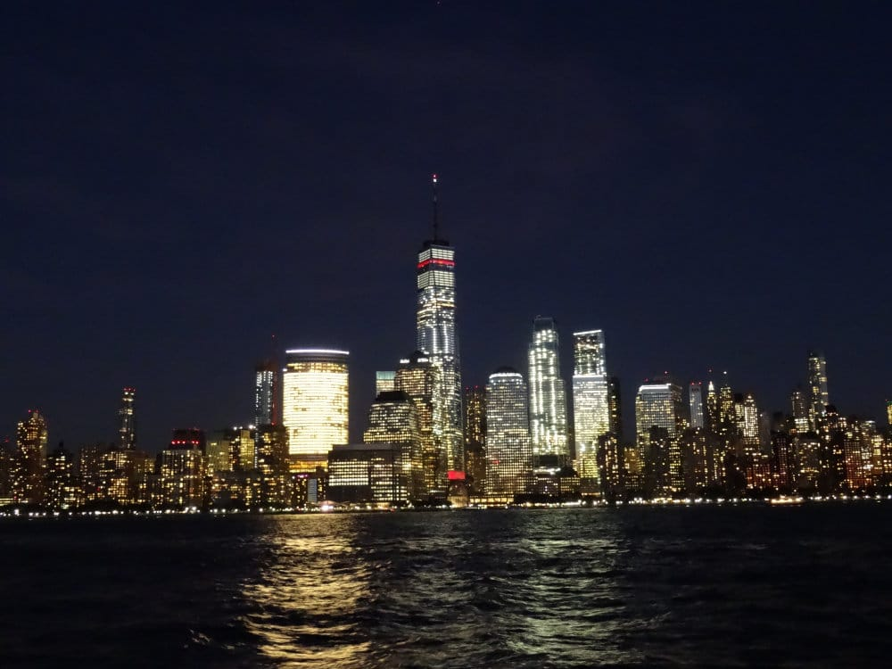 Le quartier du WTC de nuit
