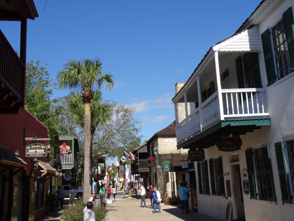 Les ruelles de Saint Augustine
