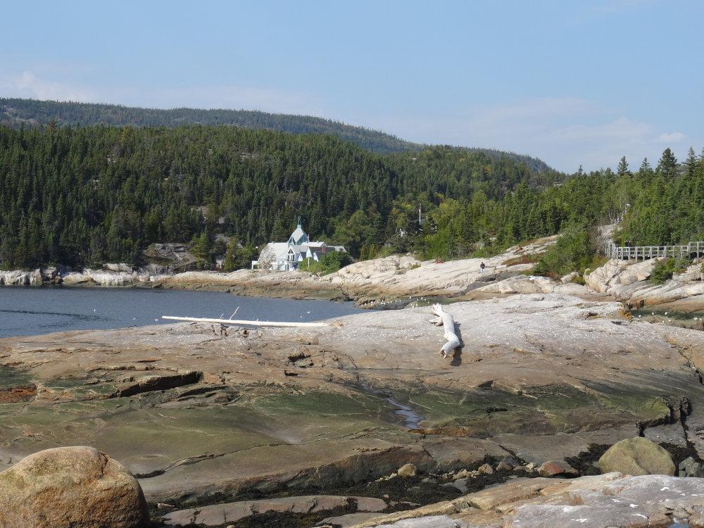 Tadoussac, sur les rives du Saguenay