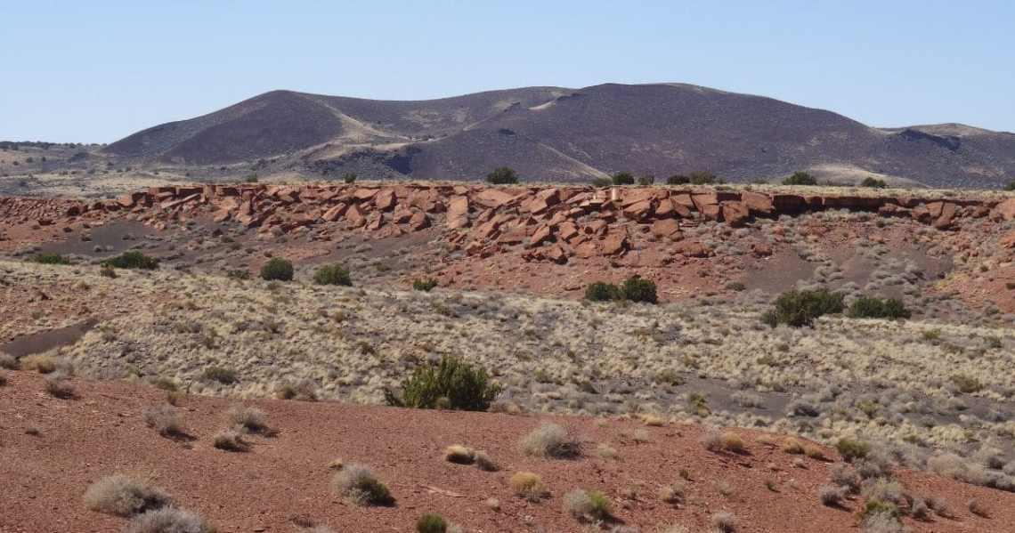Le parc national de Wutpaki dans l'Arizona aux USA