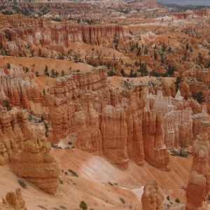 Bryce canyon, parc national de l'Utah, Etats-Unis