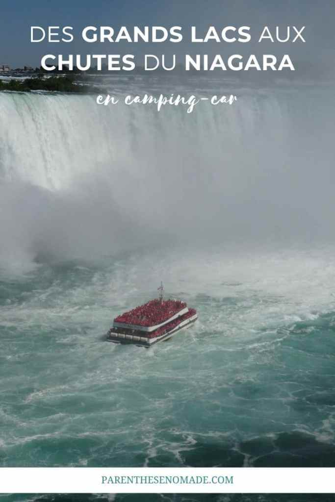 Chutes du Niagara vues depuis le Canada