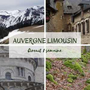 Auvergne Limousin camping-car