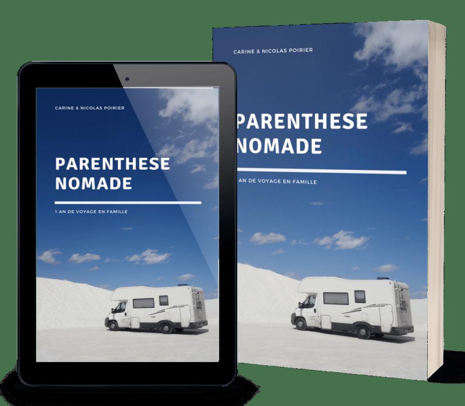 Parenthèse nomade, récit d'un an de voyage en Amérique en camping-car