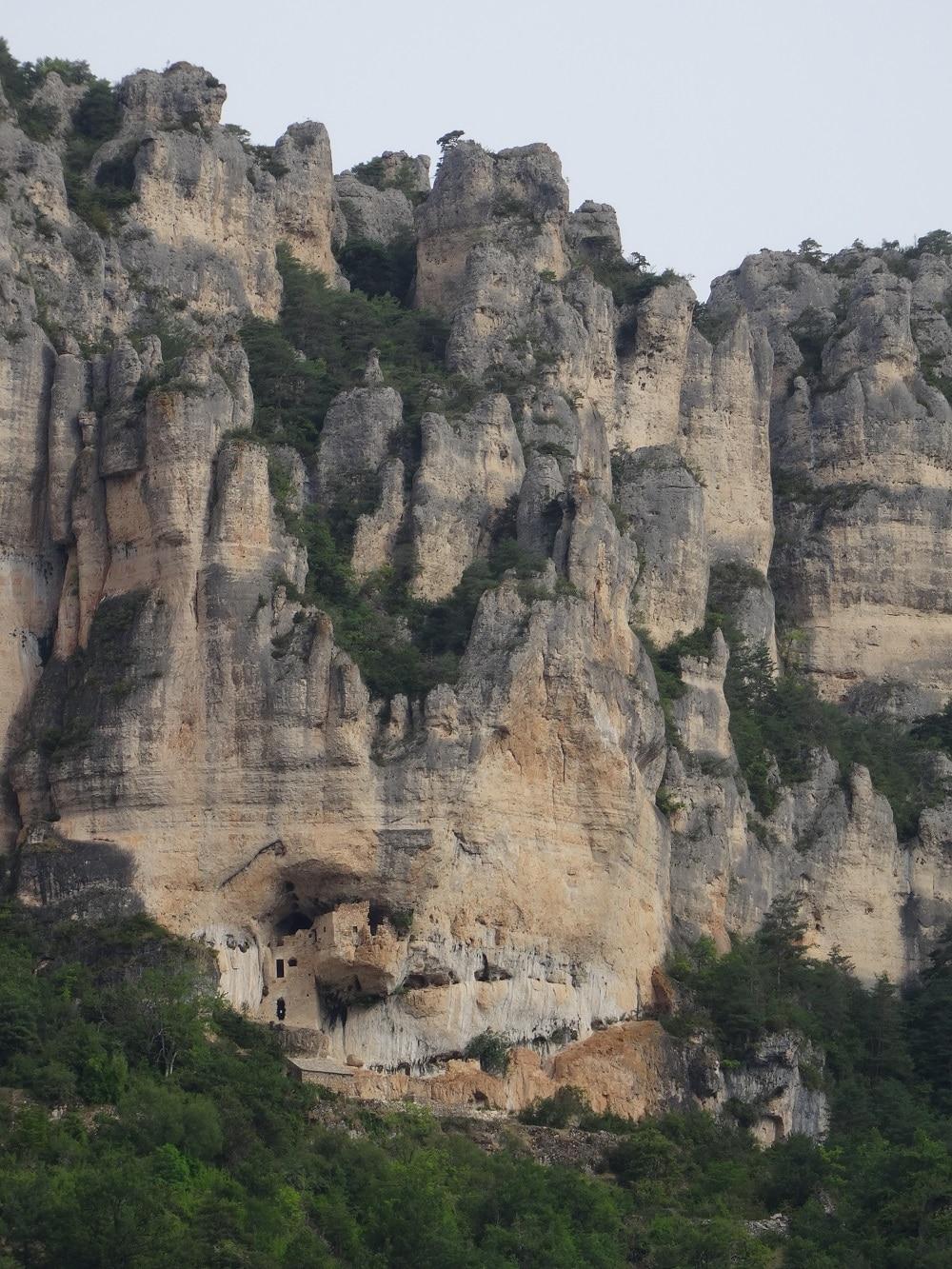 Gorges du Tarn, le village de Saint-Marcellin