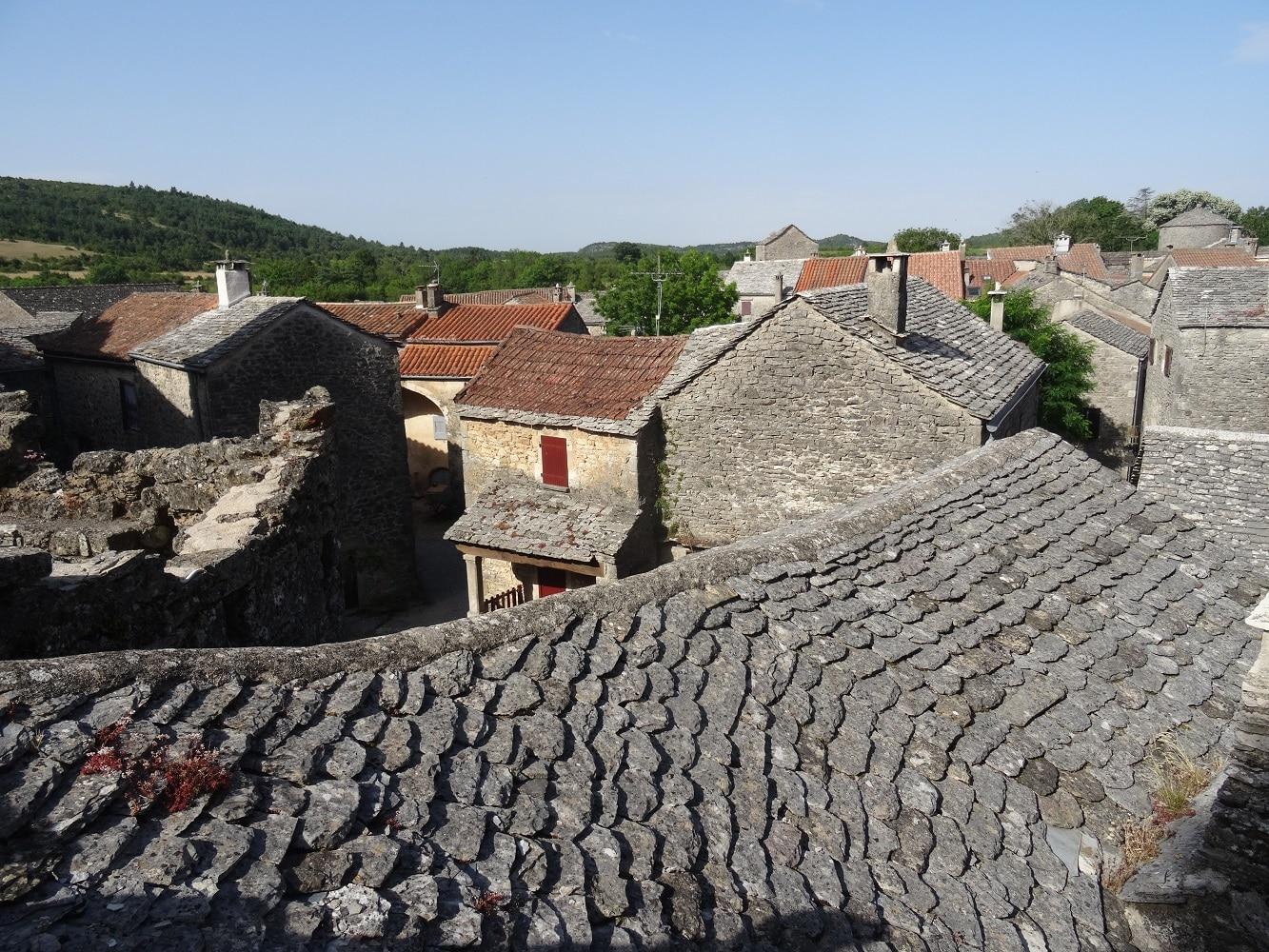 La Couvertoirade, village médiéval de l'Aveyron