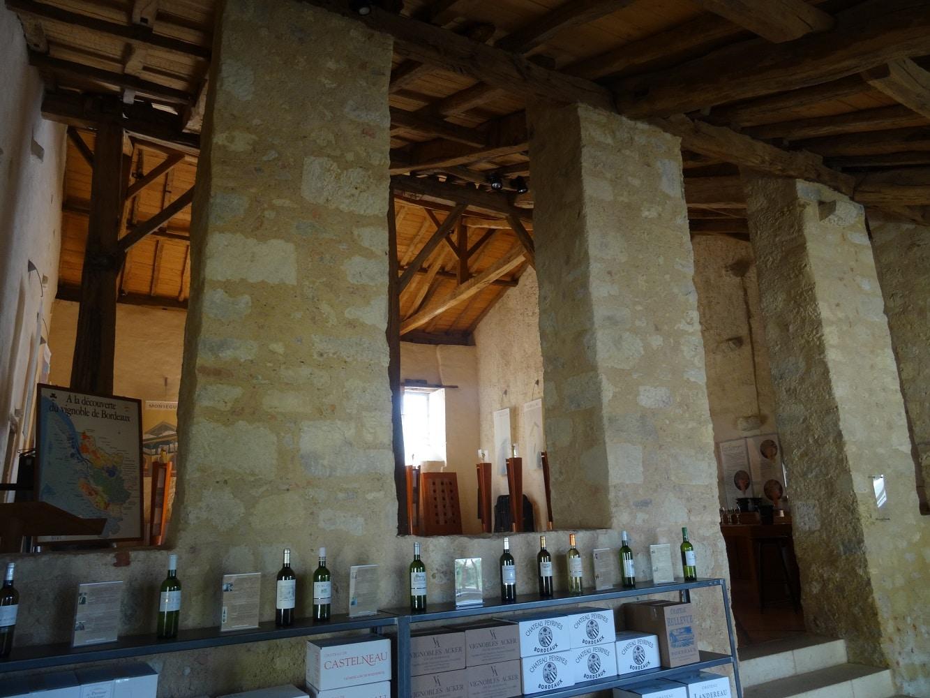 Salle de dégustation Maison des vins de l'Entre deux Mers à La Sauve