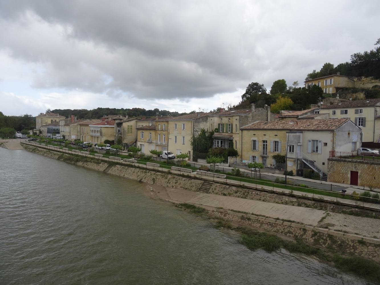 Le port de Langoiran sur la Garonne
