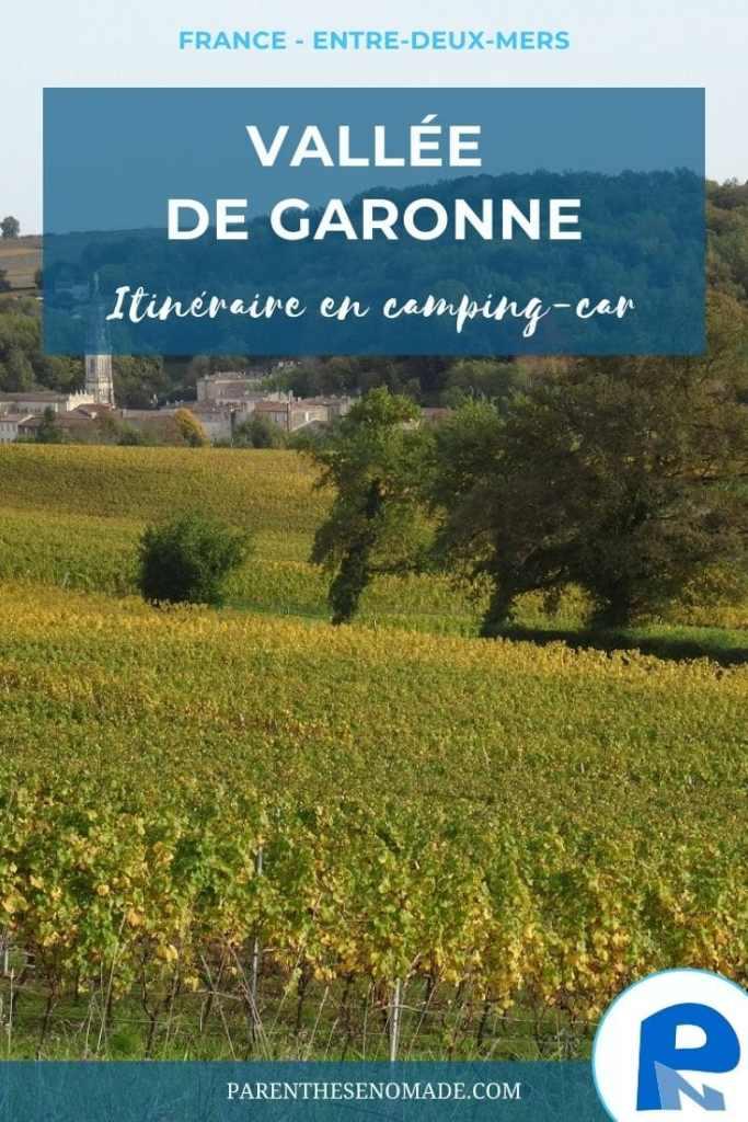 7 étapes en Entre-deux-Mers en suivant la Garonne