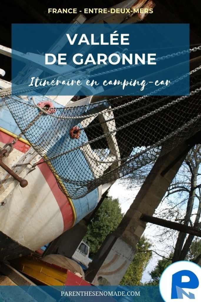 Vallée de Garonne : un itinéraire en 7 étapes
