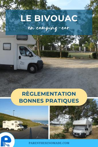 Règlementation, bonnes pratiques et impact des applications participatives pour faire du bivouac ou camping sauvage en camping-car