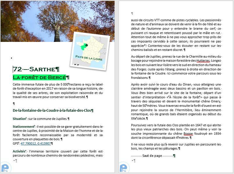 Tour de France des escapades nature en camping-car, la Sarthe