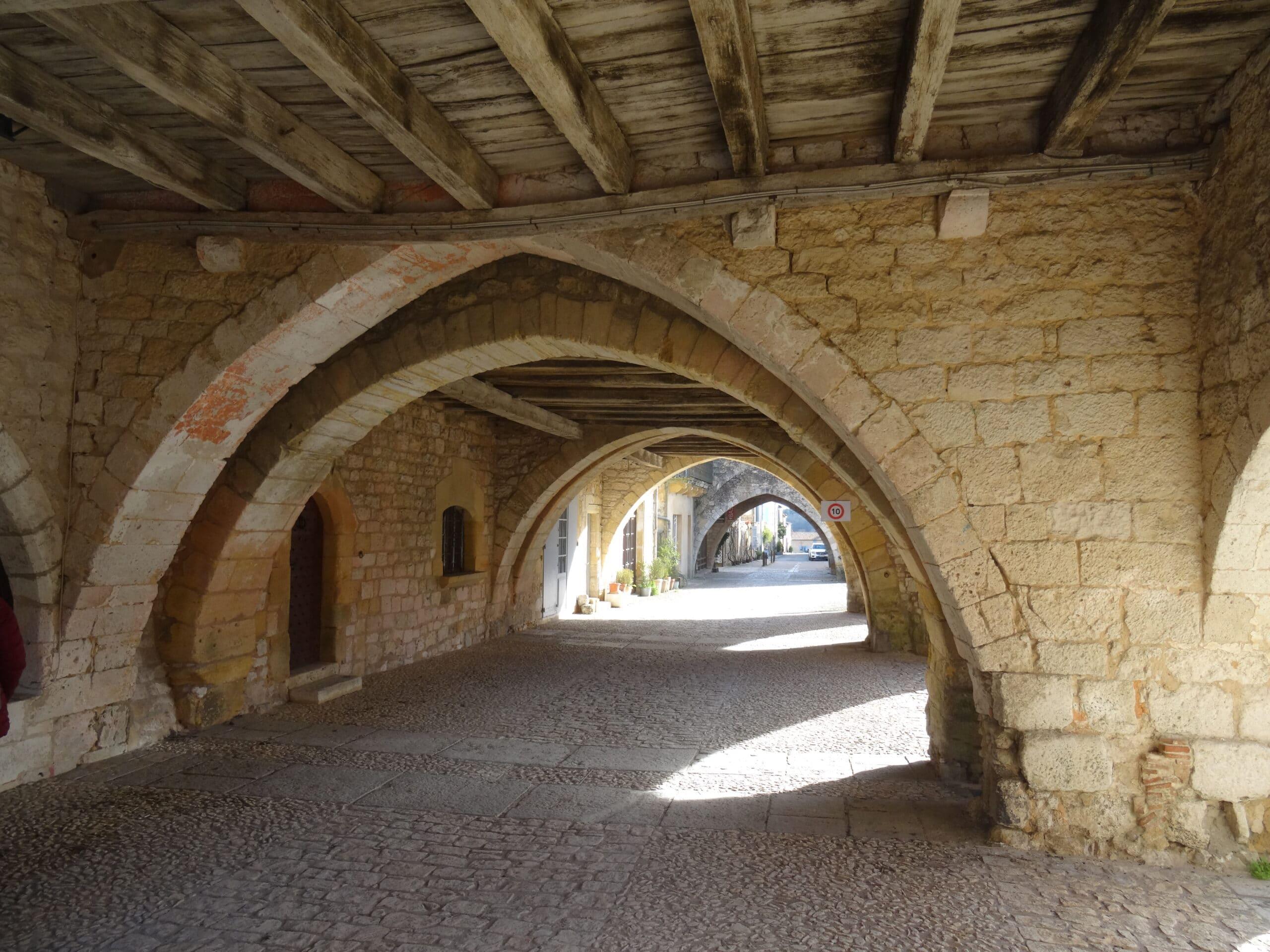 Monpazier - Bastide et plus beau village de France en Dordogne