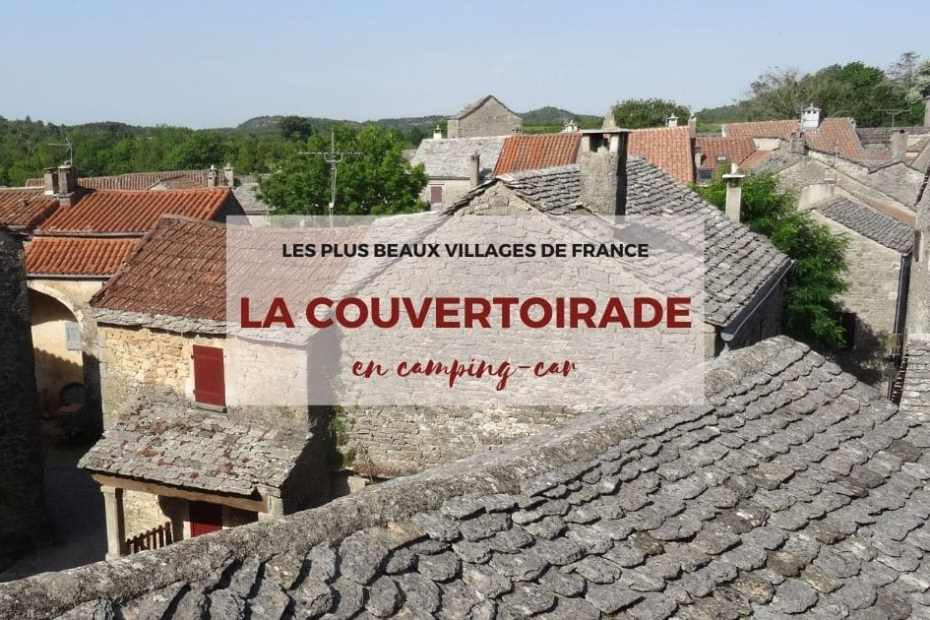 La Couvertoirade, plus beau village de France d'Aveyron - Guide de visite en camping-car