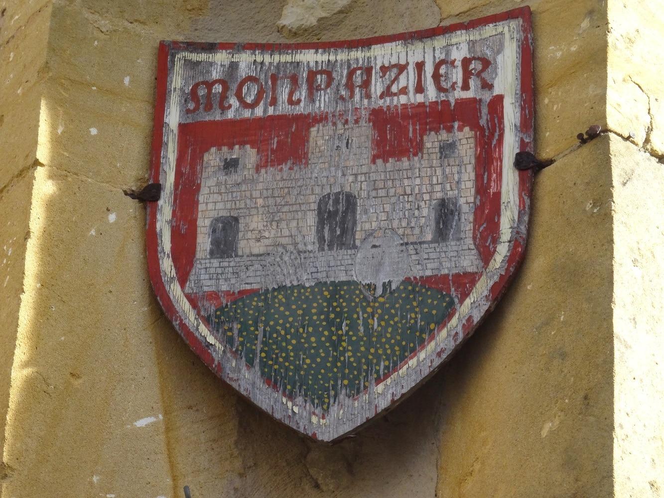 Blason de la bastide de Monpazier