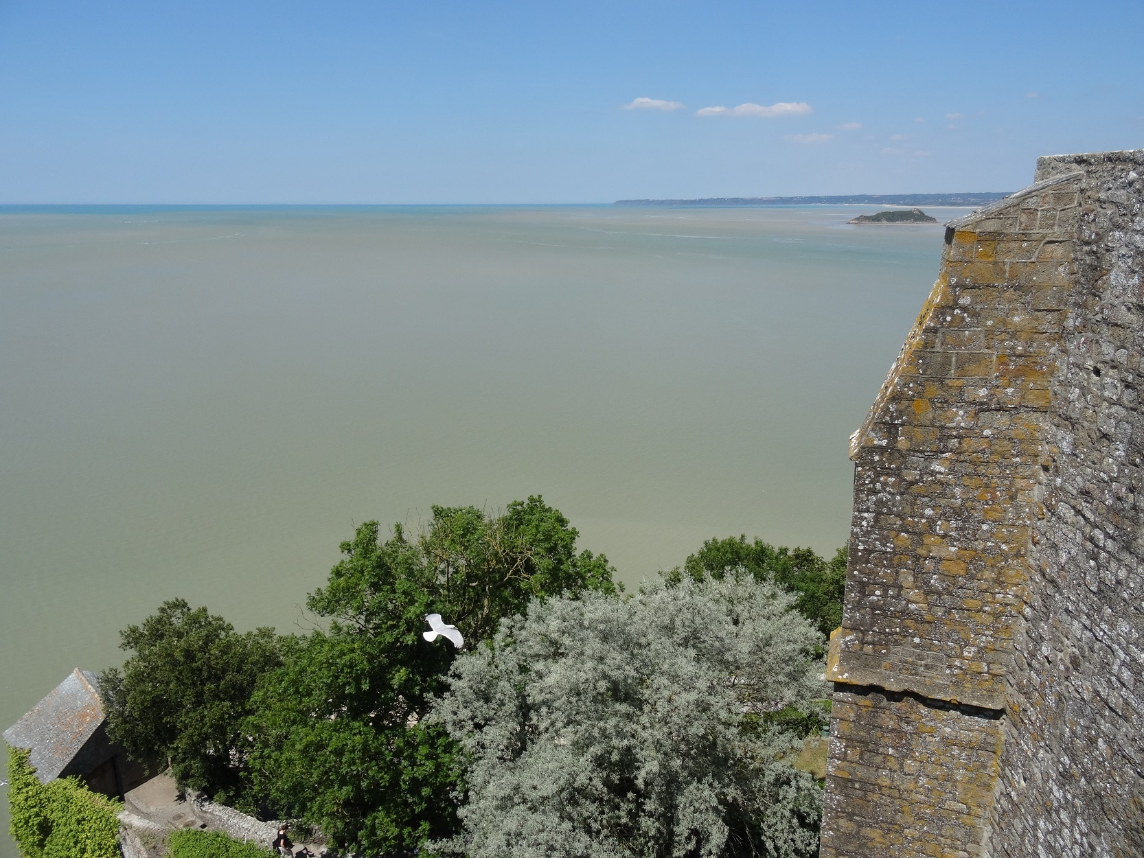 Point de vue sur la baie du Mont-Saint-Michel