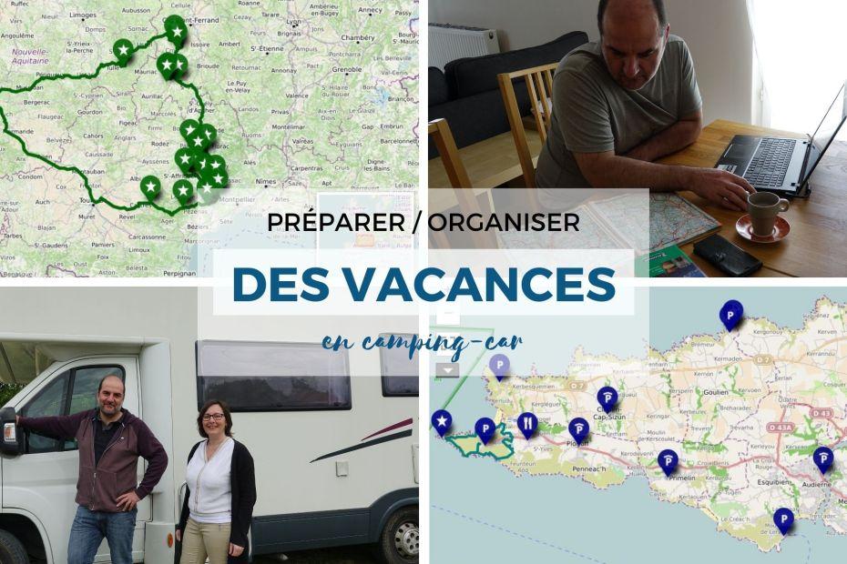 Comment préparer des vacances en camping-car ? Notre méthode et nos conseils à lire dans cet article