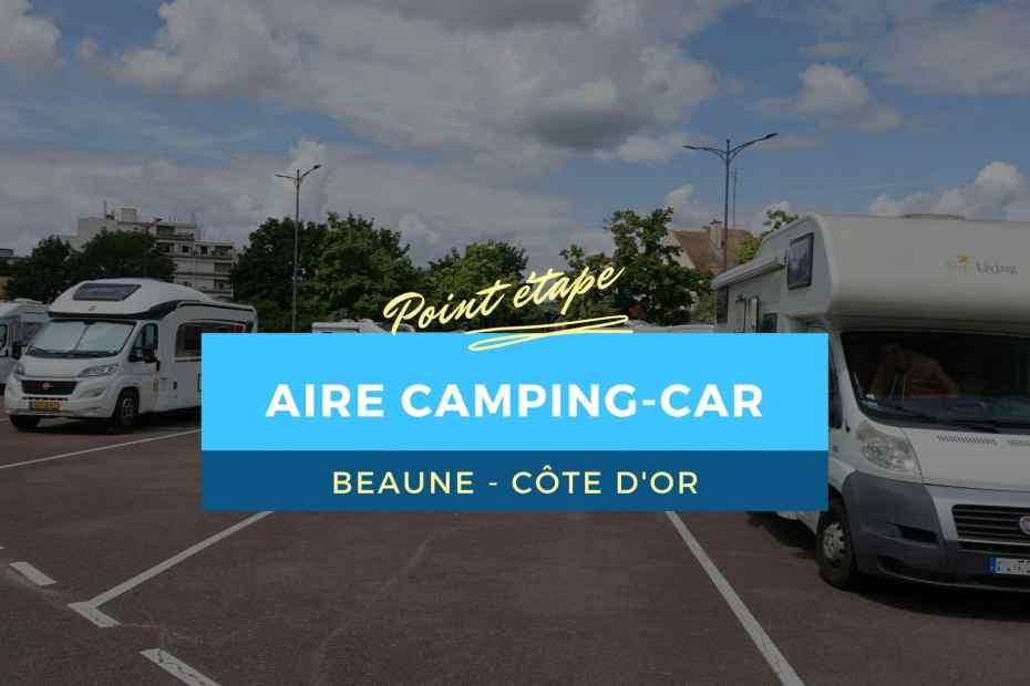 Aire camping-car de Beaune : l'essentiel à savoir