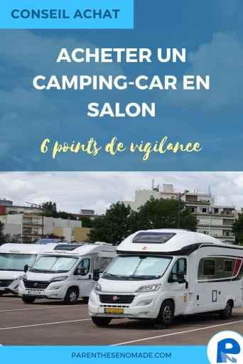 Acheter un camping-car en salon : une bonne idée ?