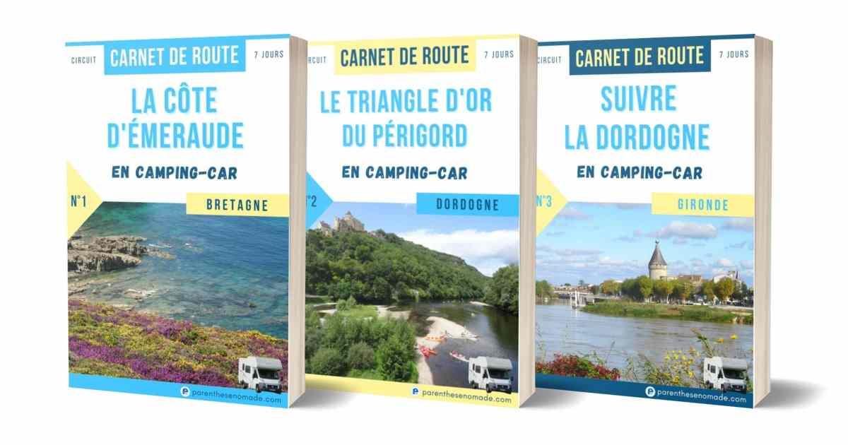 Parenthèse nomade : des guides et des carnets de route (roadbook) pour camping-car