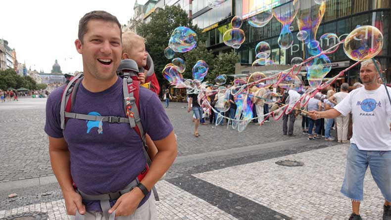 Parenthood and Passports - Prague, Czech Republic with kids