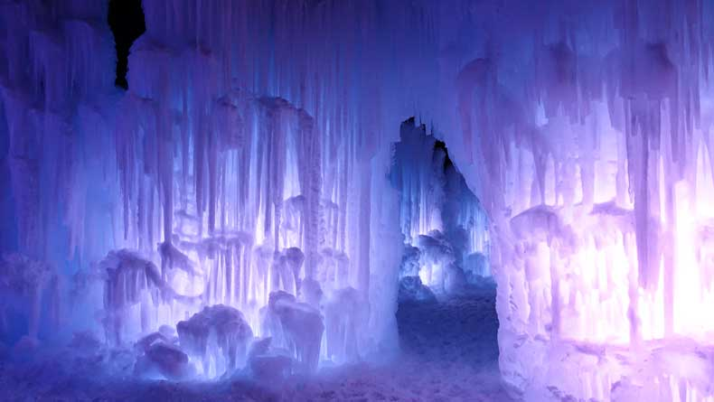 Parenthood and Passports - Ice Castles Midway