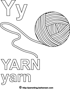 yarn coloring pages free printable - 237×300