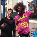 Hanging out in Westwood with Redfoo