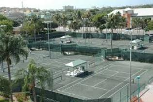 clay courts