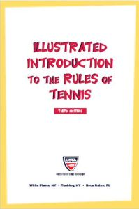 rules of tennis