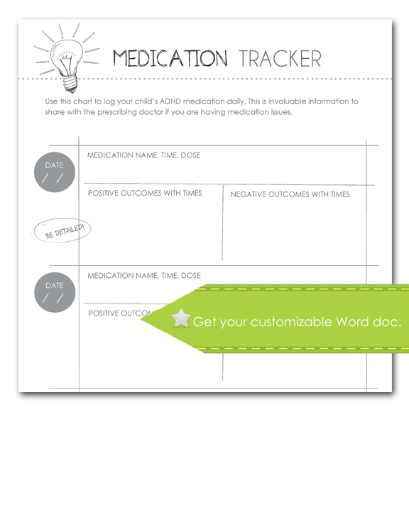Medication Tracker, Customize