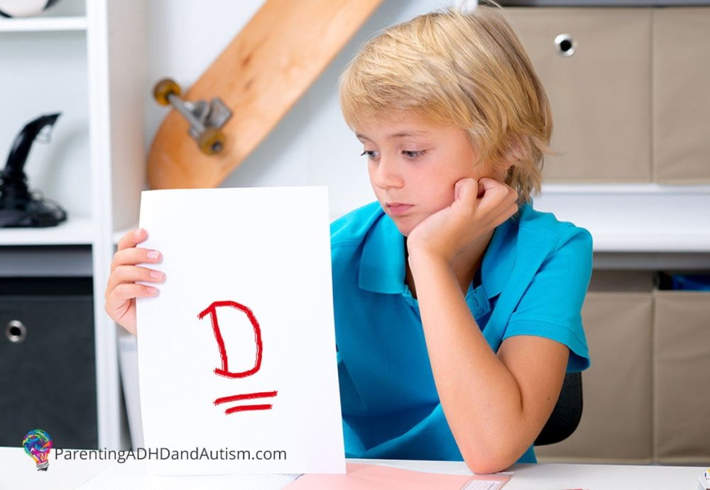 Bring on the D's and F's: Redefining Academic Success for Kids with ADHD and Autism http://ParentingADHDandAutism.com