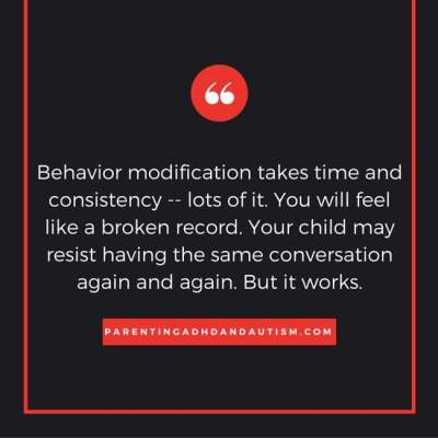 Behavior modification quote