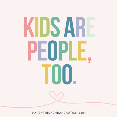 Kids are people too