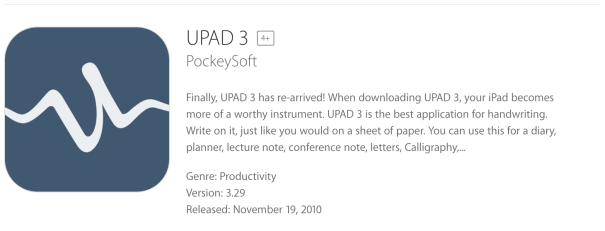 UPAD3: Apps for Students with Disabilities