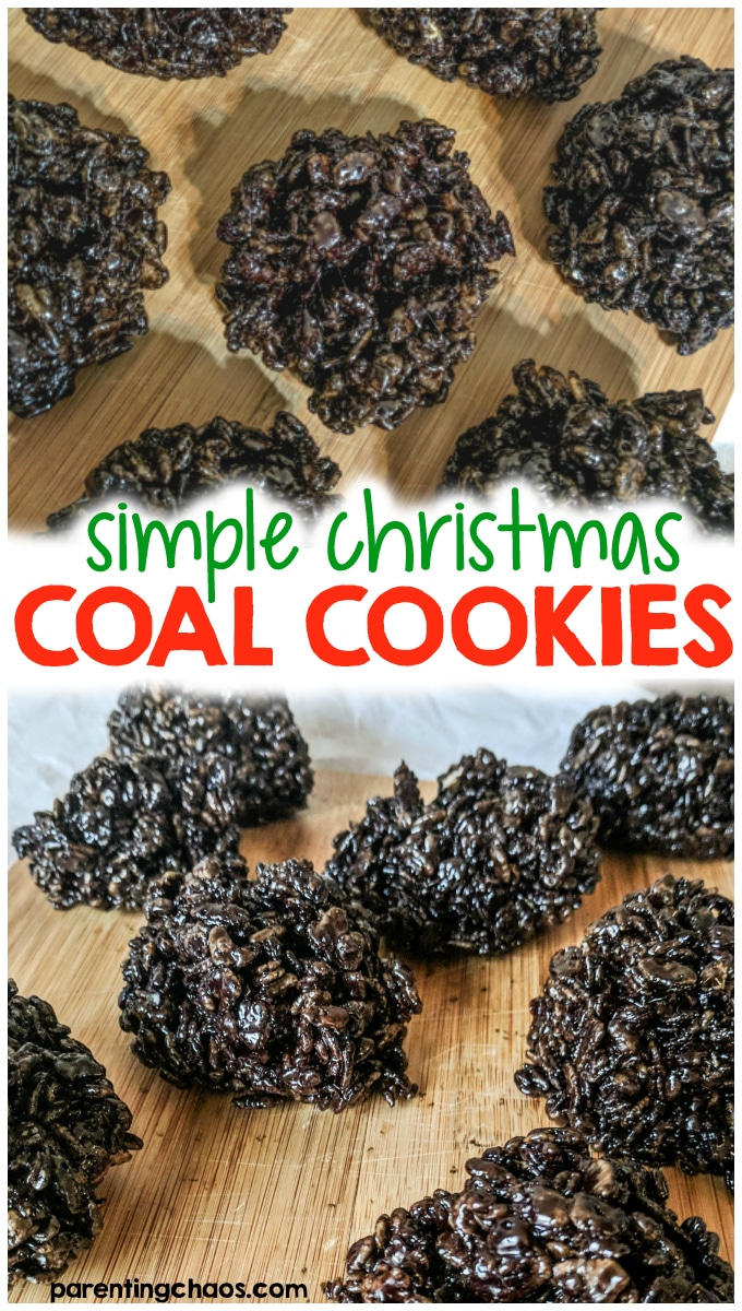 Coal Cookie Recipe Parenting Chaos