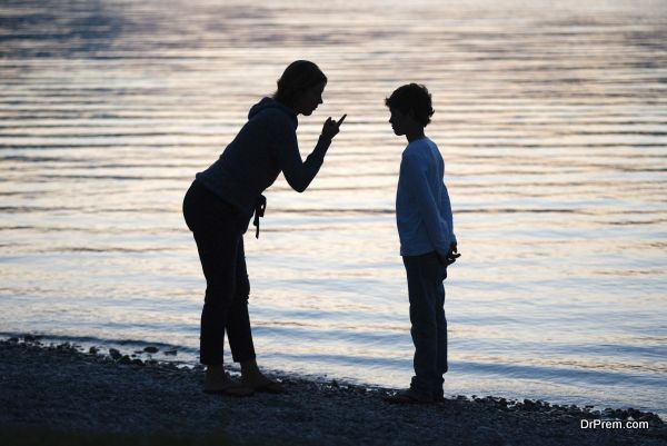 Punishing her son