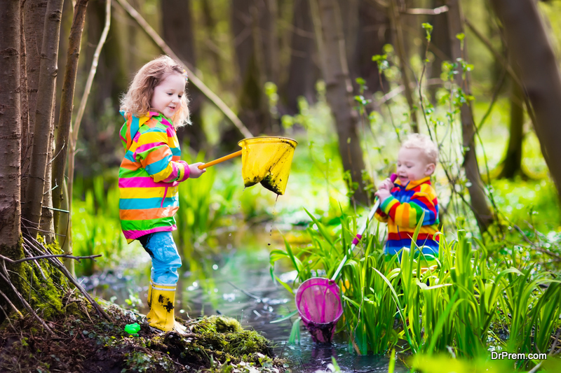 Outdoor play and activities