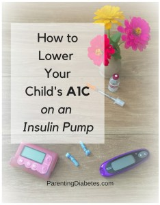 lowerac1 234x300 How to Lower your Childs A1C with an Insulin Pump