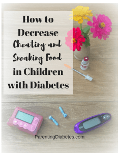 ParentingDiabetes.com 5 234x300 How to Prevent your Child with Diabetes from Cheating and Sneaking Food